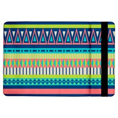 Aztec Triangle Chevron Wave Plaid Circle Color Rainbow Ipad Air Flip by Mariart