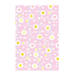 Flower Floral Sunflower Pink Yellow Shower Curtain 48  X 72  (small)  by Mariart
