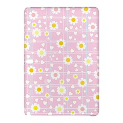 Flower Floral Sunflower Pink Yellow Samsung Galaxy Tab Pro 10 1 Hardshell Case by Mariart