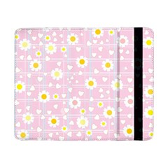 Flower Floral Sunflower Pink Yellow Samsung Galaxy Tab Pro 8 4  Flip Case by Mariart