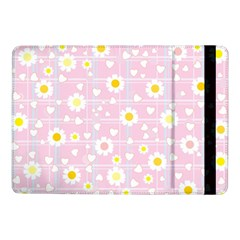 Flower Floral Sunflower Pink Yellow Samsung Galaxy Tab Pro 10 1  Flip Case by Mariart