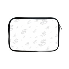 Dollar Sign Transparent Apple iPad Mini Zipper Cases by Mariart