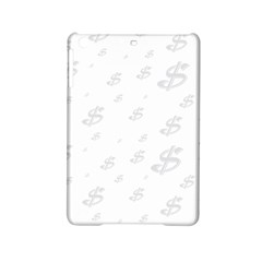 Dollar Sign Transparent Ipad Mini 2 Hardshell Cases by Mariart