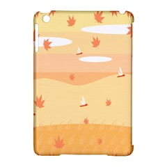 Dragonfly Leaf Orange Apple Ipad Mini Hardshell Case (compatible With Smart Cover) by Mariart