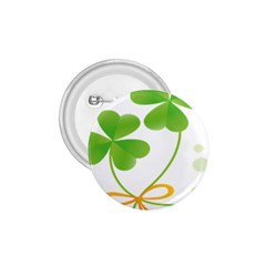 Flower Floralleaf Green Reboon 1 75  Buttons by Mariart