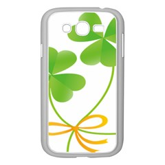 Flower Floralleaf Green Reboon Samsung Galaxy Grand Duos I9082 Case (white) by Mariart