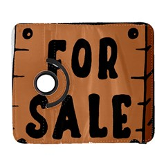 For Sale Sign Black Brown Galaxy S3 (flip/folio) by Mariart