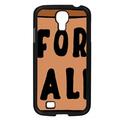 For Sale Sign Black Brown Samsung Galaxy S4 I9500/ I9505 Case (black) by Mariart