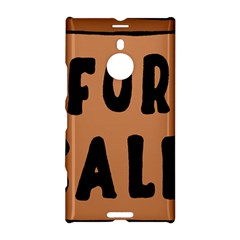 For Sale Sign Black Brown Nokia Lumia 1520 by Mariart