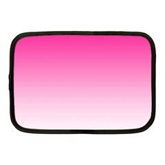 Gradients Pink White Netbook Case (medium)  by Mariart