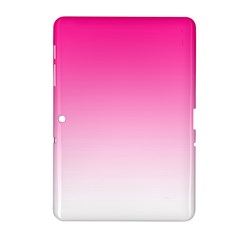 Gradients Pink White Samsung Galaxy Tab 2 (10 1 ) P5100 Hardshell Case  by Mariart
