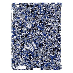 Electric Blue Blend Stone Glass Apple Ipad 3/4 Hardshell Case (compatible With Smart Cover) by Mariart