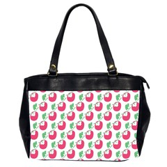 Fruit Pink Green Mangosteen Office Handbags (2 Sides)  by Mariart