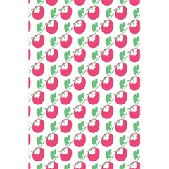 Fruit Pink Green Mangosteen 5 5  X 8 5  Notebooks by Mariart
