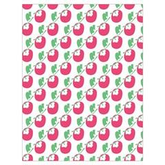 Fruit Pink Green Mangosteen Drawstring Bag (large) by Mariart