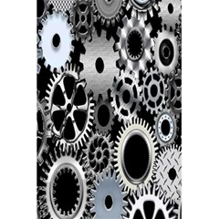 Gears Technology Steel Mechanical Chain Iron 5 5  X 8 5  Notebooks by Mariart