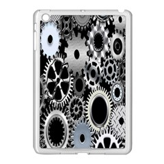Gears Technology Steel Mechanical Chain Iron Apple Ipad Mini Case (white) by Mariart