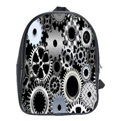 Gears Technology Steel Mechanical Chain Iron School Bags (xl)  by Mariart