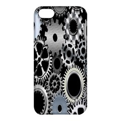 Gears Technology Steel Mechanical Chain Iron Apple Iphone 5c Hardshell Case by Mariart