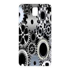 Gears Technology Steel Mechanical Chain Iron Samsung Galaxy Note 3 N9005 Hardshell Back Case by Mariart
