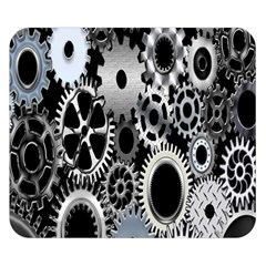 Gears Technology Steel Mechanical Chain Iron Double Sided Flano Blanket (small)  by Mariart