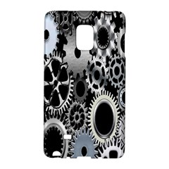 Gears Technology Steel Mechanical Chain Iron Galaxy Note Edge by Mariart