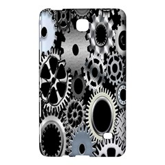 Gears Technology Steel Mechanical Chain Iron Samsung Galaxy Tab 4 (7 ) Hardshell Case  by Mariart