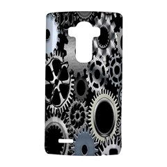 Gears Technology Steel Mechanical Chain Iron Lg G4 Hardshell Case by Mariart