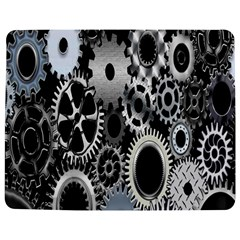 Gears Technology Steel Mechanical Chain Iron Jigsaw Puzzle Photo Stand (rectangular) by Mariart