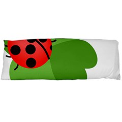 Insect Flower Floral Animals Green Red Body Pillow Case Dakimakura (two Sides) by Mariart
