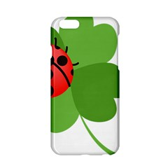 Insect Flower Floral Animals Green Red Apple Iphone 6/6s Hardshell Case by Mariart
