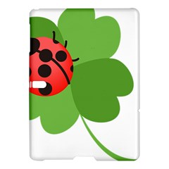 Insect Flower Floral Animals Green Red Samsung Galaxy Tab S (10 5 ) Hardshell Case  by Mariart