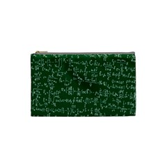 Formula Number Green Board Cosmetic Bag (small)  by Mariart