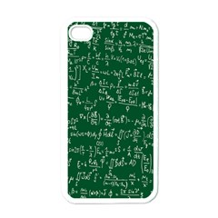Formula Number Green Board Apple Iphone 4 Case (white) by Mariart
