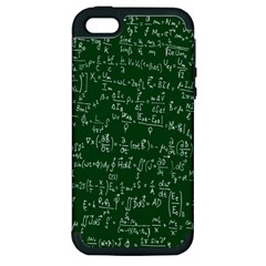 Formula Number Green Board Apple Iphone 5 Hardshell Case (pc+silicone) by Mariart