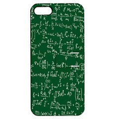 Formula Number Green Board Apple Iphone 5 Hardshell Case With Stand by Mariart