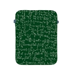 Formula Number Green Board Apple Ipad 2/3/4 Protective Soft Cases by Mariart