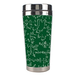 Formula Number Green Board Stainless Steel Travel Tumblers by Mariart