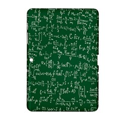 Formula Number Green Board Samsung Galaxy Tab 2 (10 1 ) P5100 Hardshell Case  by Mariart