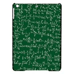 Formula Number Green Board Ipad Air Hardshell Cases by Mariart