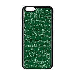 Formula Number Green Board Apple Iphone 6/6s Black Enamel Case by Mariart