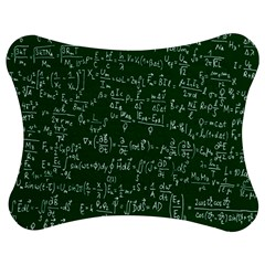 Formula Number Green Board Jigsaw Puzzle Photo Stand (bow) by Mariart