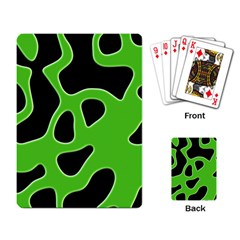 Abstract Shapes A Completely Seamless Tile Able Background Playing Card