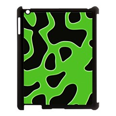 Abstract Shapes A Completely Seamless Tile Able Background Apple Ipad 3/4 Case (black)
