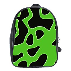 Abstract Shapes A Completely Seamless Tile Able Background School Bags (xl)