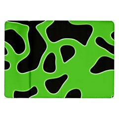 Abstract Shapes A Completely Seamless Tile Able Background Samsung Galaxy Tab 10 1  P7500 Flip Case by Nexatart