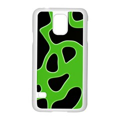 Abstract Shapes A Completely Seamless Tile Able Background Samsung Galaxy S5 Case (white)