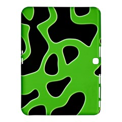 Abstract Shapes A Completely Seamless Tile Able Background Samsung Galaxy Tab 4 (10 1 ) Hardshell Case