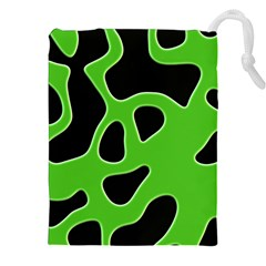 Abstract Shapes A Completely Seamless Tile Able Background Drawstring Pouches (xxl) by Nexatart