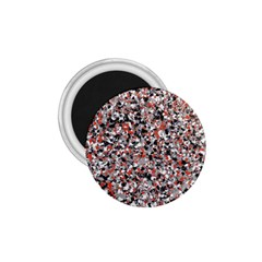 Hurley Mix Electric Electric Red Blend 1 75  Magnets by Mariart